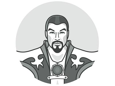 Shang Tsung - Character icon mortal kombat mortal kombat x game release character design icon character icon illustration shang tsung game game character warrior sorcerer