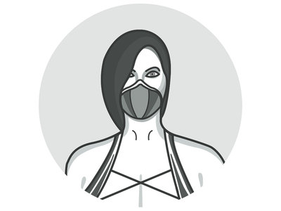 Jade - Character Icon mortal kombat mortal kombat x game release character design icon character icon illustration jade game game character warrior princess