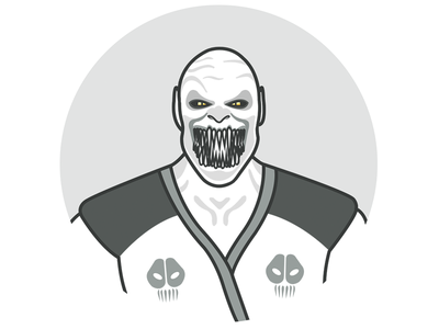 Baraka - Character Icon mortal kombat mortal kombat x game release character design icon character icon illustration baraka game game character warrior