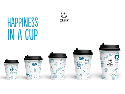 Coffee cups branding coffee design packaging identity design coffee coffee cup visual identity brand identity illustration branding