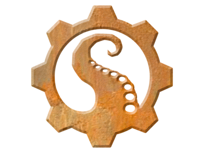 Sauerworks brand icon - Rusted variant