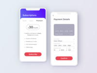Subscription Page - Simple