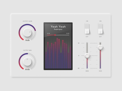 bitfuel.ui #5 –Sound Interface designer interface design designspiration interfaces neuphorism sound designs interface colorful app digital ui website colors bitfuel illustration concept ux design