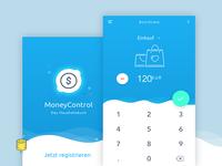 MoneyControl App Concept