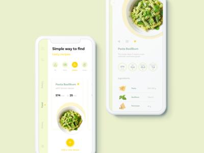 Concept Food UI App
