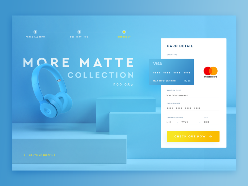 bitfuel.ui #4 – Daily UI: #002 typography concept design ux branding contrast webdesign uidesign daily 100 challenge checkout card color product ui daily ui dailyui