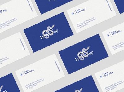 Logo and business card design for Baem Leadership