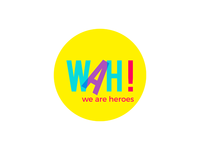 We are heroes logo