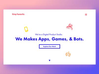 Tiny Hearts Website