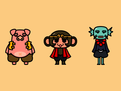 Character Set - Monkey