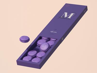 Ube Macaron