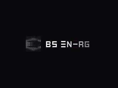 Logo Animation BS energy icon logotype design crypto blockchain branding minimal simple clean after effects logo animation animation vector dots logotype logo