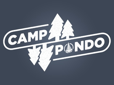 Trees Mirrored Shirt mock up summer camp tree shirt apparel