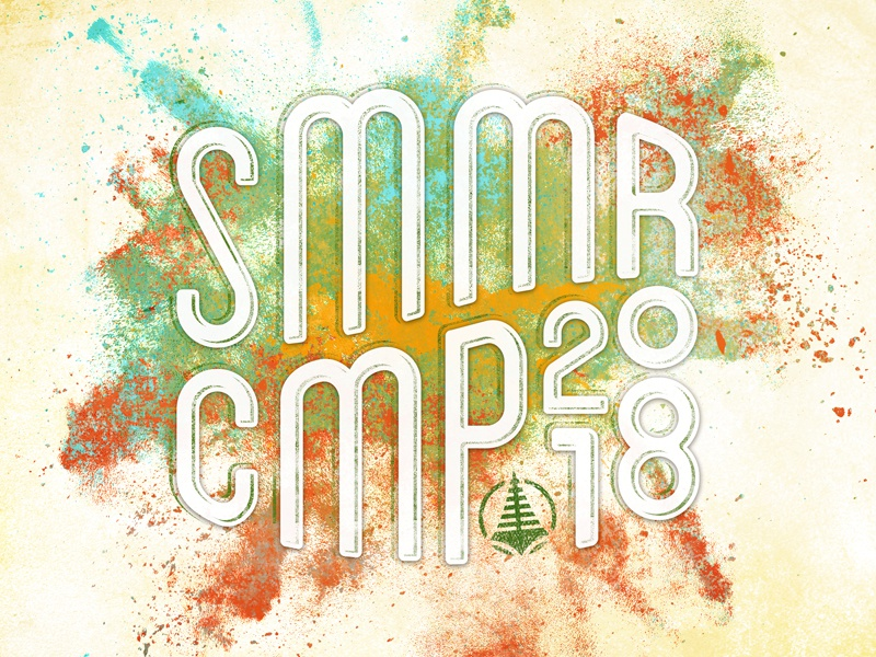 SMMR CMP paint type color splat 2018 camp summer