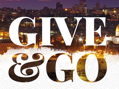 Give & Go Bookmark brushes type photo playfair reversed type bookmark