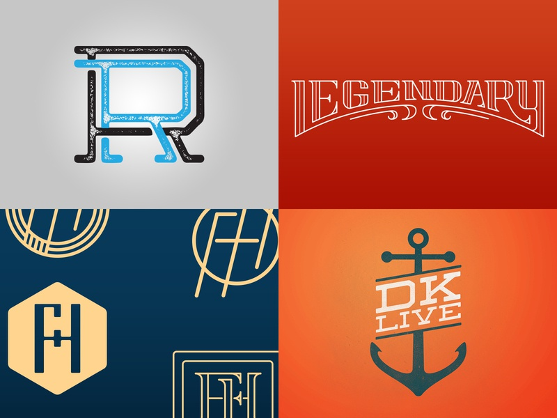 2018 Top Shots logo camp design vector typography lettering