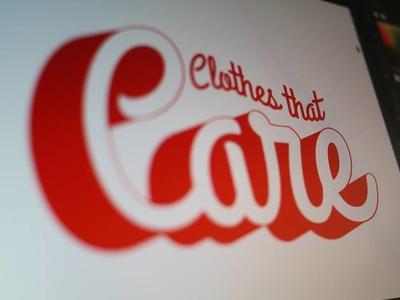 Care Clothing branding