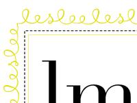 Leslee Mitchell logo