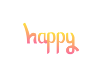happy-typeface