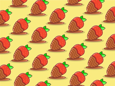 Chocolate Covered Strawberries Designs Themes Templates And Downloadable Graphic Elements On Dribbble