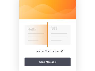 Translation Modal Concept