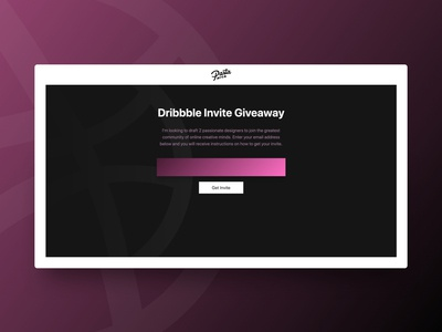 2x Invites! player invitation invite gradient vector art ux daily ui lineart vector app icon mark illustration drawing sketch logo flat clean ui design