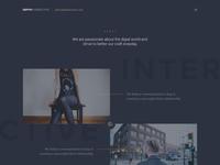 New Depth Website