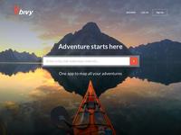 Bivy Landing Page
