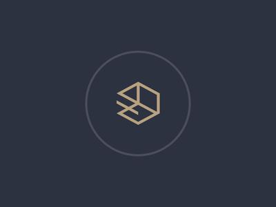 Depth Icon design depth branding logo
