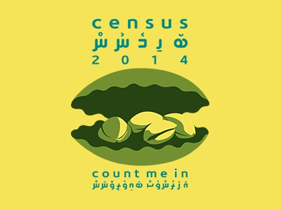 Census Maldives 2014  (logo Concept)