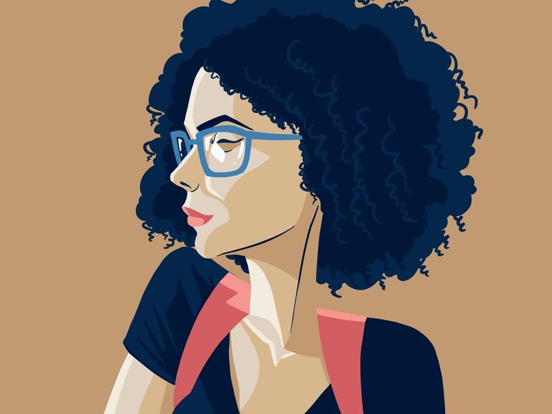 Abby illustration drawing digital illustration