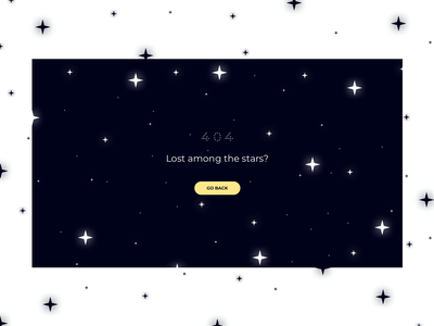 404 Lost in Space lost in space design illustration vector sketchapp ui flat minimal weekly challenge weekly warm-up 404 page 404