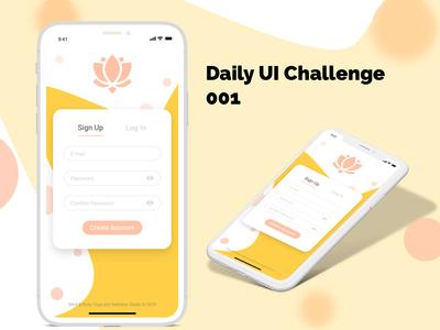 Daily UI 001