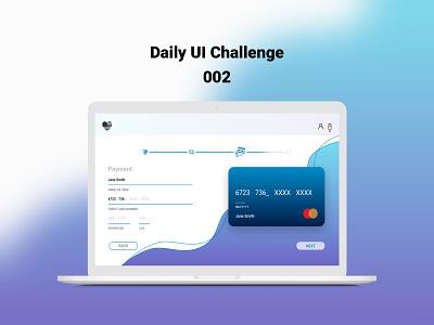Daily UI 002 web website vector ux ui minimal flat design dailyui daily 100 challenge