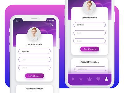 User Profile UI branding daily ui 006 sketchapp user profile ios app ux flat ui minimal dailyui daily 100 challenge