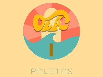 Ola Paletas Logo