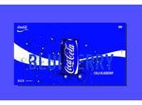 Coca Cola new flavours concept