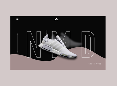 Adidas landing page