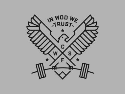 Crossfit Gym Shirt seattle weights wod hawk bird t-shirt shirt gym crossfit