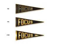 """""""Focus"""" enamel pin"""