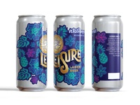 Leisure Lager Can Concept