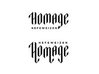 Homage Typography
