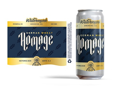 Homage Beer Can Concept