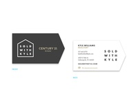 Realtor Business Card Concept