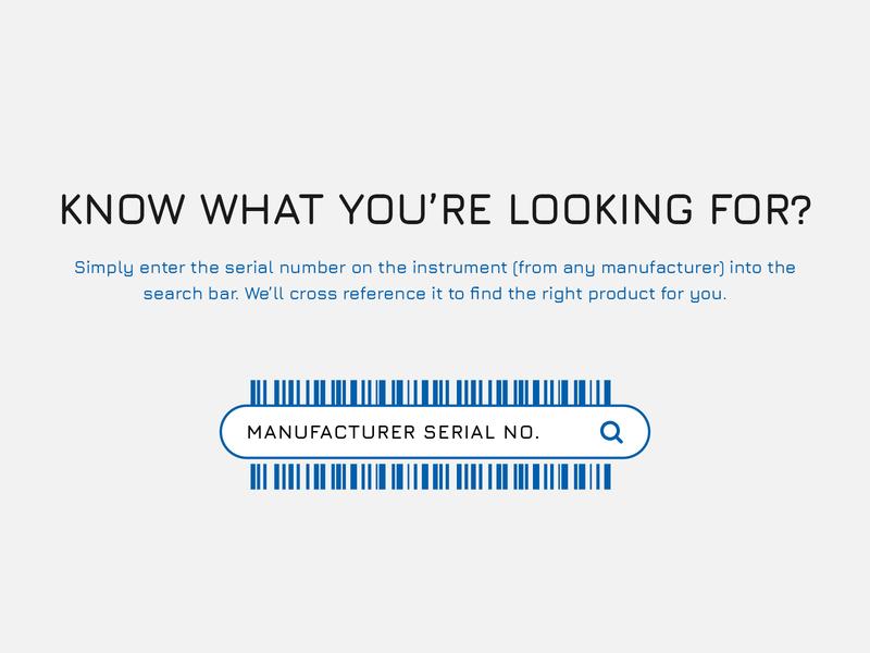 Barcode Search CTA website ui design user interface design search bar cta manufacture scan barcode serial search button