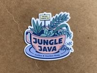 Jungle Java sticker sample