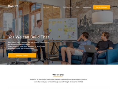 BuildIT- A software development company