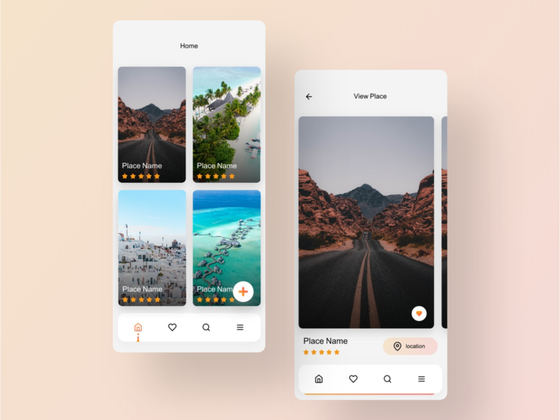 TravelApp invision art agancy color typography design app animation mobile ui design ux design ux ui studio