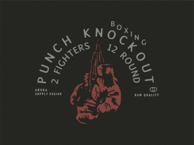 PUNCH drawing free punch boxing graphicdesign badge vector badgedesign design illustration design illustration