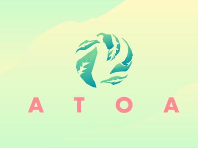 ATOA Logo Design